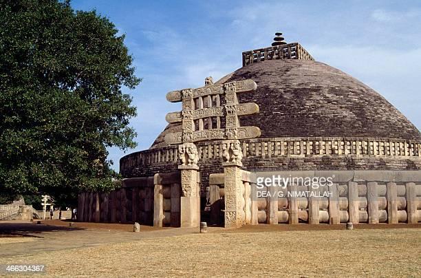 Great Stupa Sanchi Madhya Pradesh India 3rd1st century BC