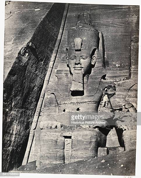 Great Temple of Abu Simbel by Maxime du Camp