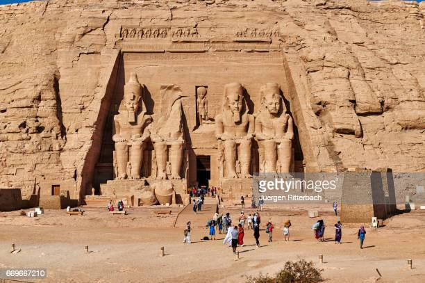 Great Temple of Ramses II  in Abu Simbel