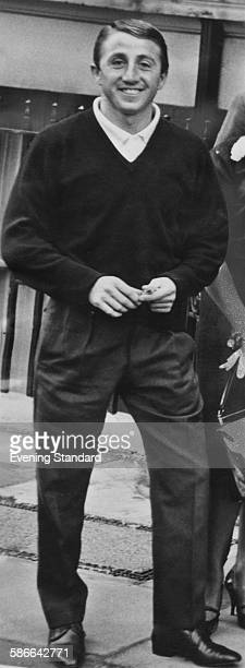Great Train Robber Roy James during the trial of eleven men accused of the robbery at Aylesbury Assizes Buckinghamshire 26th March 1964 James was...