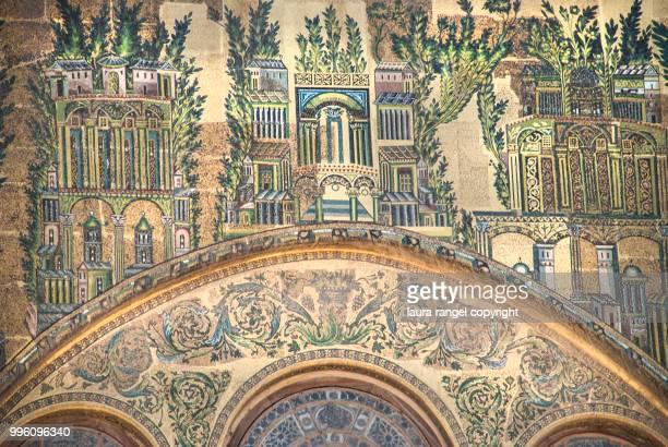 Great Umayyad Mosque of Damascus: mosaics