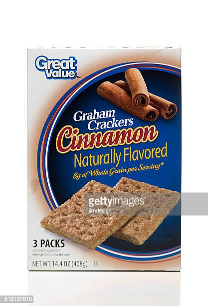 Great Value Graham Crackers Cinnamon flavored box