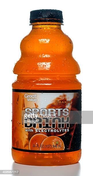 Hervorragendes Preis-Leistungs-Verhältnis-Orange Sport Drink Flaschen