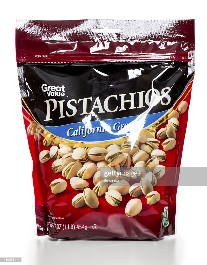 Great Value Pistachios package : Stock Photo