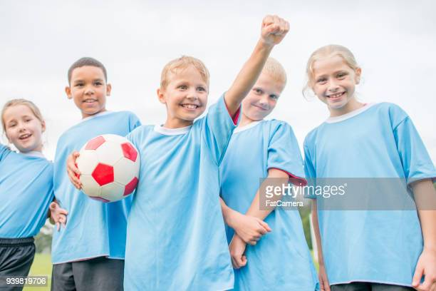 Great victory for children's soccer team