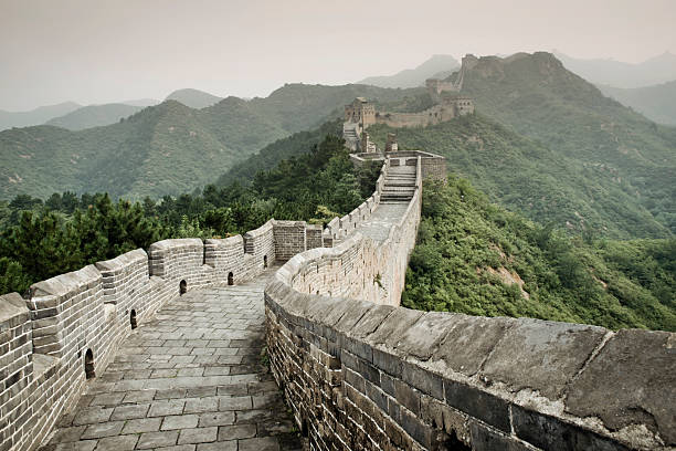 China, View of Great Wall of China