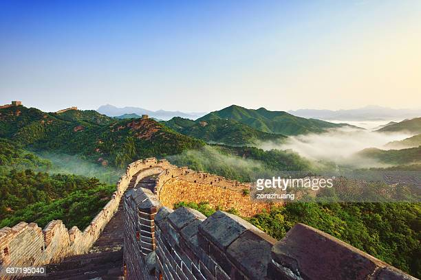 Great Wall of China in Morning