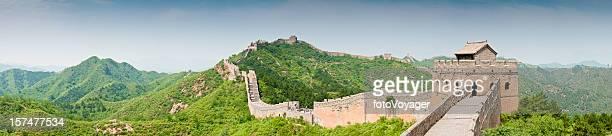 Grande Muraille de Chine Jinshanling panorama