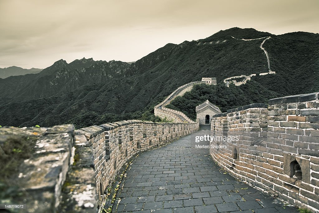 Great Wall of China. : Stockfoto