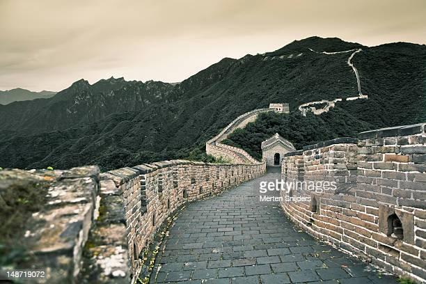 great wall of china. - merten snijders ストックフォトと画像