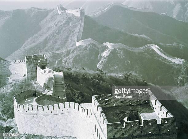 great wall of china - hugh sitton bildbanksfoton och bilder
