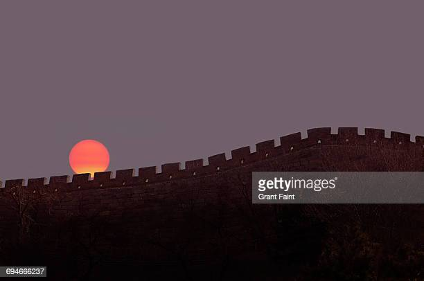 great wall of china. - great wall of china stock pictures, royalty-free photos & images