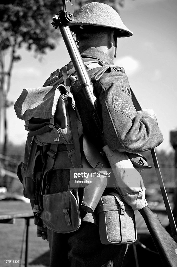 Soldat de la guerre. : Photo