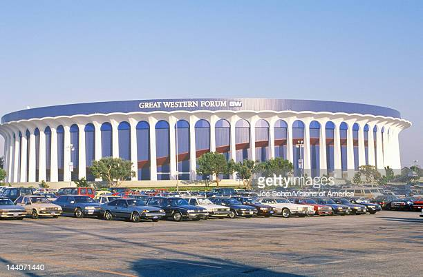 Great Western Forum home of the LA Lakers Inglewood California