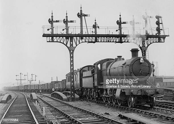 Great Western Railway 280 no 3803 at Ferme Park 25th August 1948