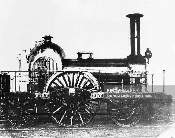 Great Western Railway broad gauge 222 locomotive 'Firefly' 1840 Built by Turner Evans