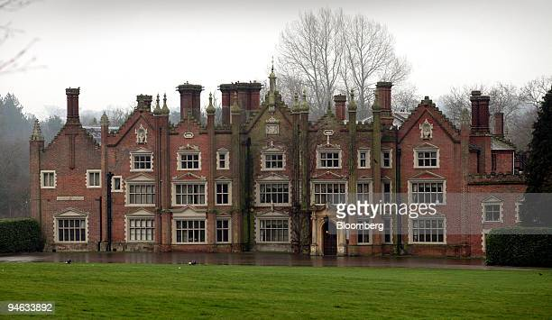 Great Witchingham Hall the home of Bernard Matthews seen in Norfolk Tuesday Feb 20 2007 Up to 500 workers are expected to be laid off at the plant...