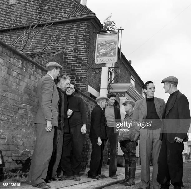 Great Yarmouth and Gorleston Lifeboat crew 6th November 1959