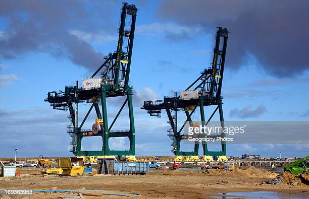 Great Yarmouth Outer Harbor construction project Norfolk England
