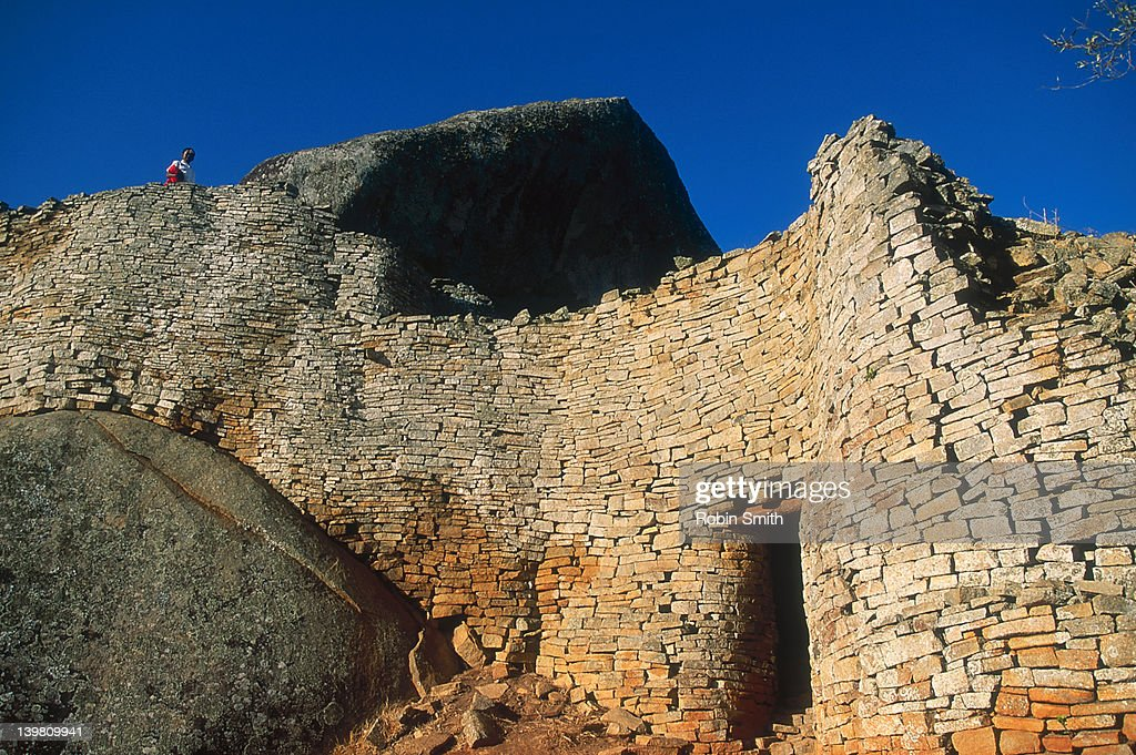 Great Zimbabwe ruins, Masvingo area, Zimbabwe : Stock Photo