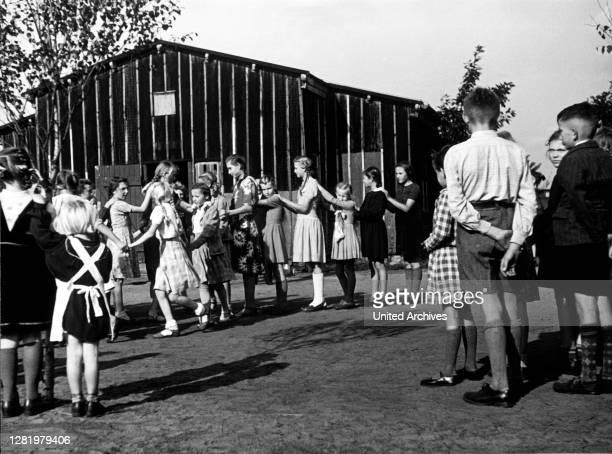 GreatBritain Children in the schoolyard England School kids having their break United Kingdom Photo taken around 1965