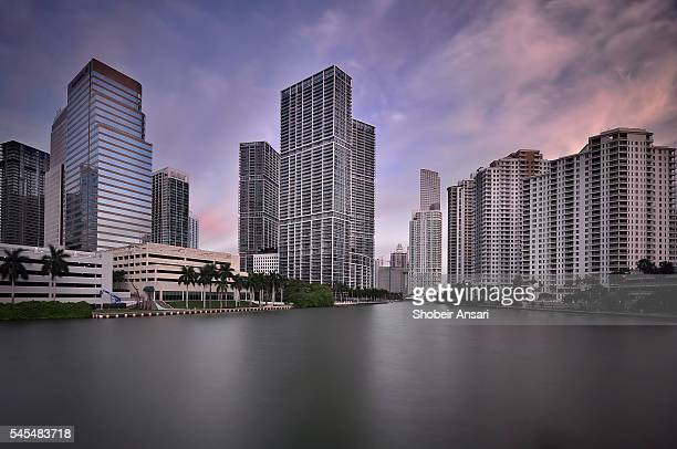 Greater Downtown Miami at sunrise, Florida