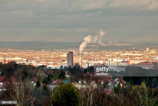 greatful sheffield landscape - sheffield stock pictures, royalty-free photos & images