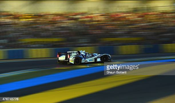Greaves Motorsport GBR driven by Gary Hirsch Gaeton Paletou and John Lancaster during qualifying for the Le Mans 24 Hour race at the Circuit de la...
