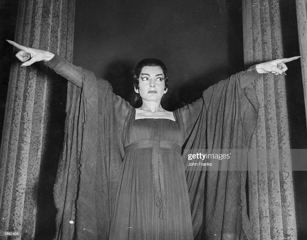 Maria Callas : News Photo