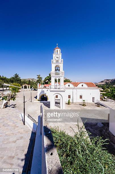 Greece, Aegean Islands, Rhodes, Church Moni Tsambik