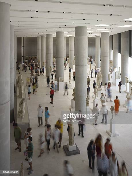 Greece Architect Athens New Acropolis Museum Athens Greece Archaic Gallery