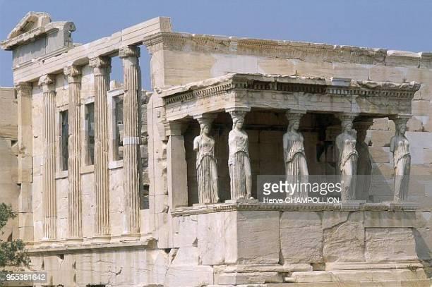Athens Acropolis Erechtheion Grèce Athenes Acropole Erechtheion