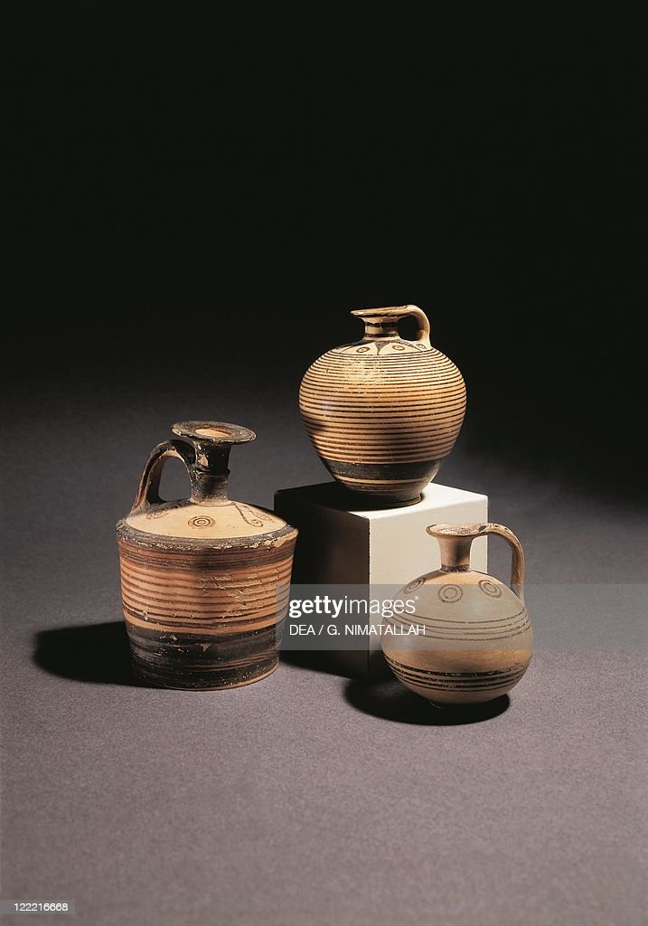Greece Athens Aryballos Spherical Vase Pictures Getty Images