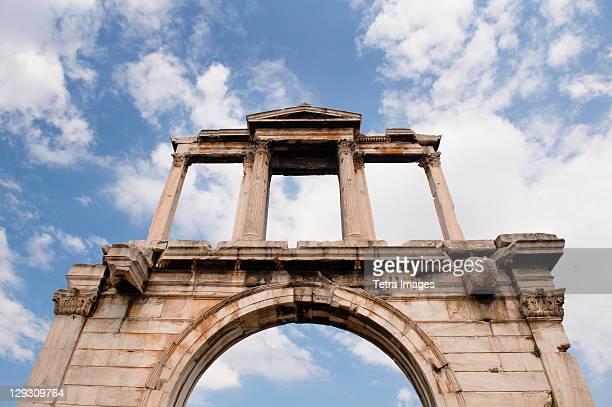 Greece, Athens, Hadrians Gate