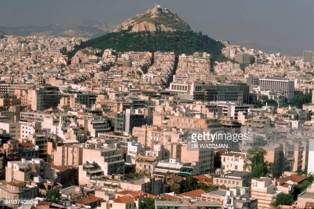 Athens Mount Lykavittos Grèce Athènes le mont Lykavittos