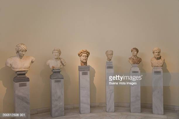 Greece, Athens, National Museum of Archaeology, classical busts