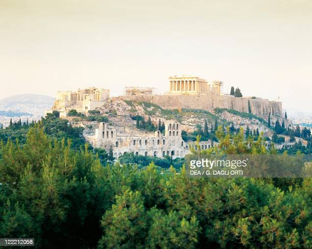 Greece Attica Acropolis of Athens