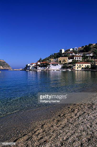 Greece Cephelonia Assos Fishing Village