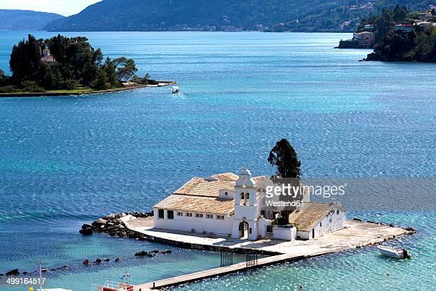 Greece, Corfu, Corfu Town, Vlacherna Monastery