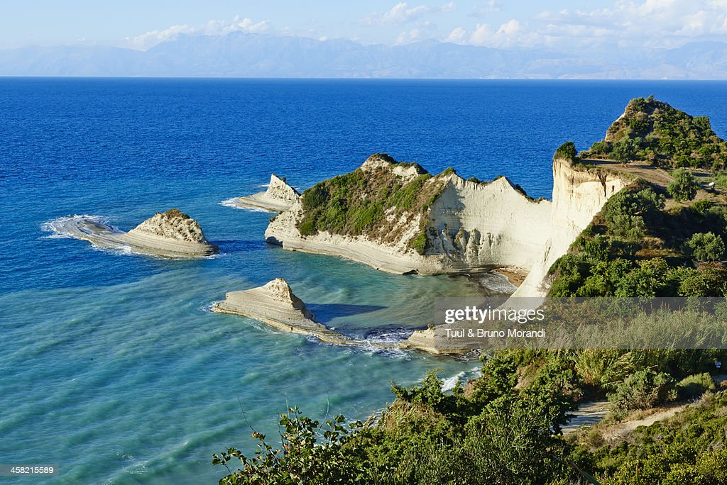 Greece, Corfu island, Drastis Cape : Stock Photo