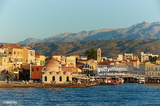 Greece, Crete, Chania, Venetian port