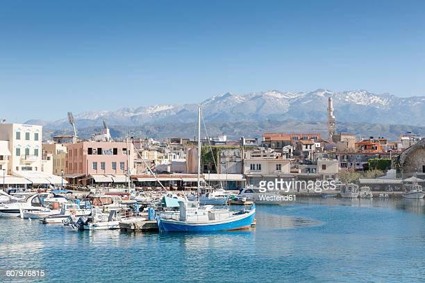 Greece, Crete, Harbour of Chania