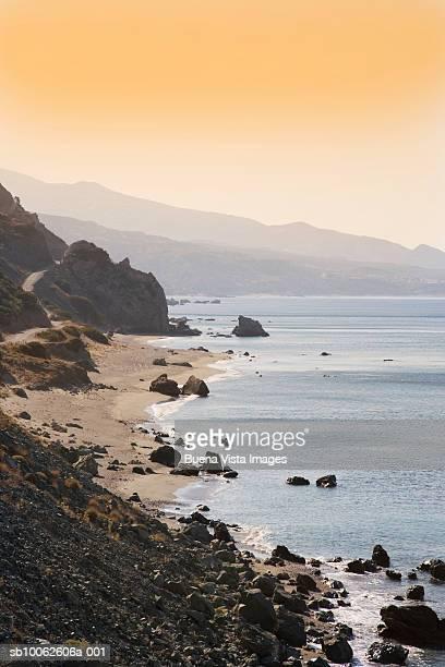 Greece, Crete, Preveli, coastline