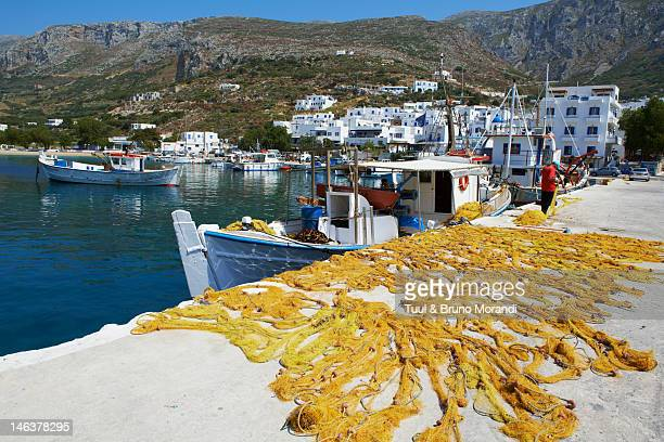 Greece, Cyclades, Amorgos, Katapola bay