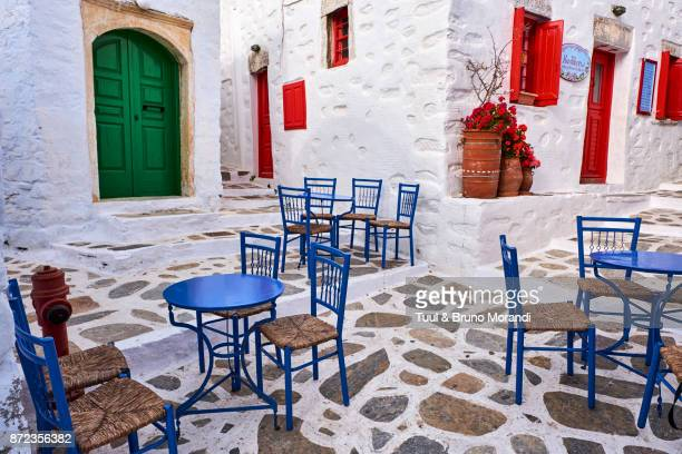 Greece, Cyclades, Amorgos, Langada village