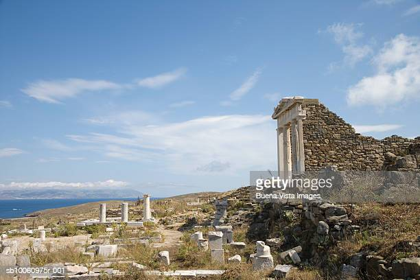 Greece, Cyclades Islands, Delos, Temple of Isis and Sanctuary of the Egyptian Gods