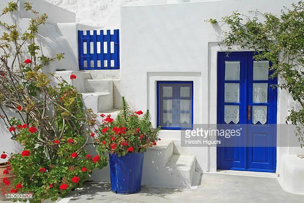 greece, cyclades islands, santorini - ギリシャ諸島 ストックフォトと画像