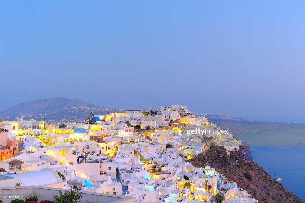 Village of Fira. : News Photo