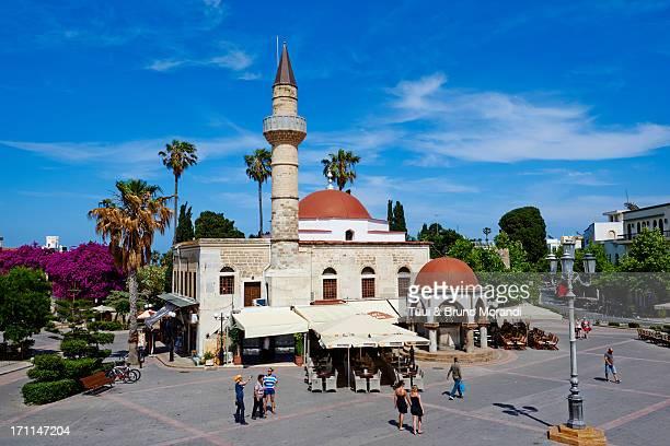 Greece, Dodecanese, Kos, Kos city, Liberty square
