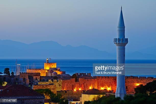 Greece, Dodecanese, Rhodes, Ibrahim Pacha mosque